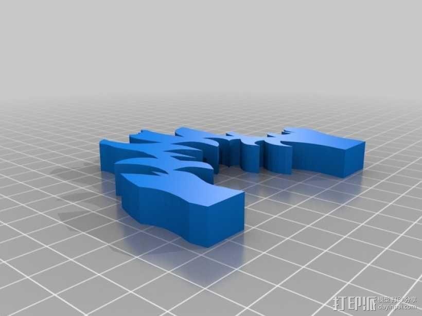 篝火 3D模型  图13