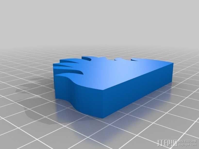 篝火 3D模型  图11