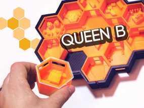 Queen B航天器 3D模型
