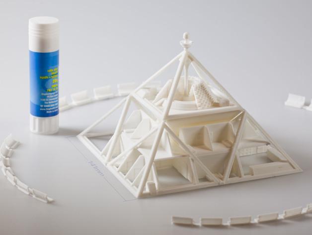 火星金字塔 3D模型  图4