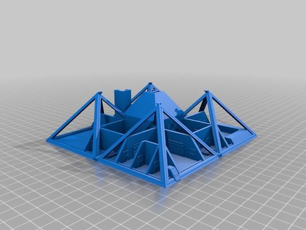 火星金字塔 3D模型  图17