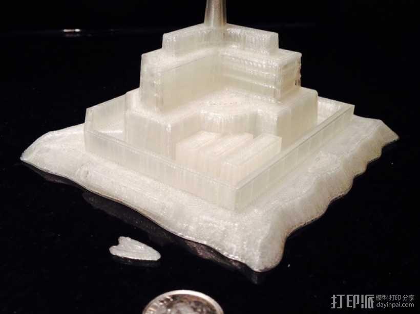火星上的城堡 3D模型  图7