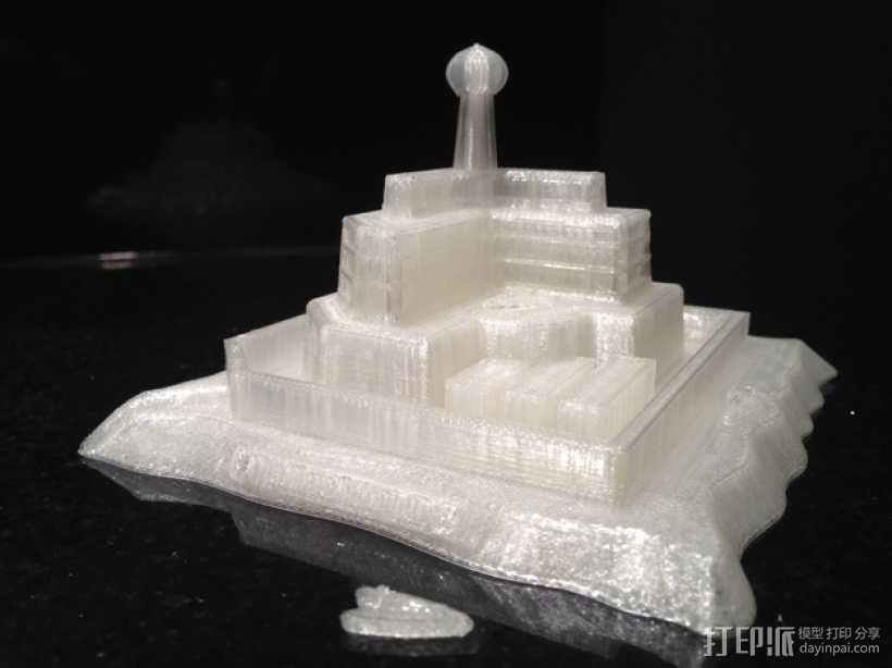 火星上的城堡 3D模型  图8