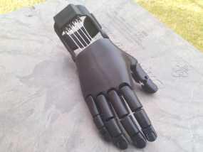 可弯曲的手   模型 升级版 3D模型