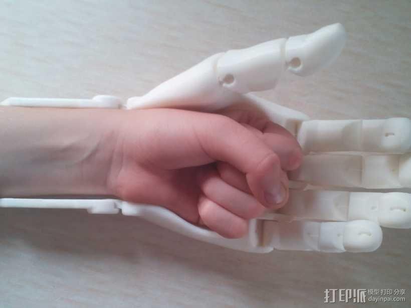 可弯曲的手   模型 升级版 3D模型  图10