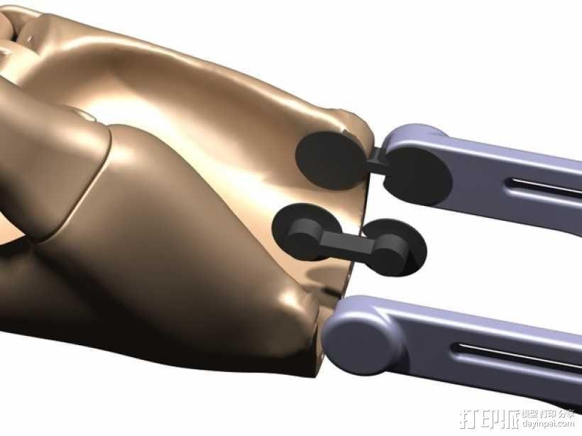 可弯曲的手   模型 升级版 3D模型  图25