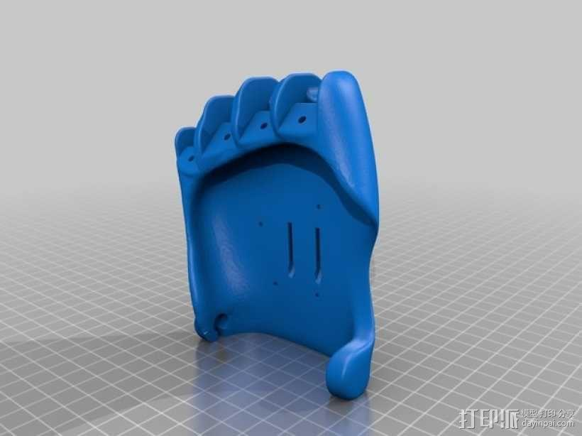 可弯曲的手   模型 升级版 3D模型  图33
