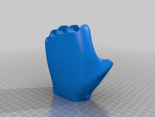 可弯曲的手   模型 升级版 3D模型  图34
