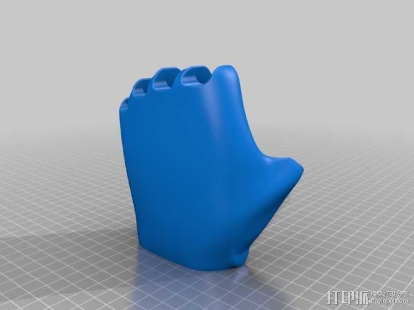 可弯曲的手   模型 升级版 3D模型  图35