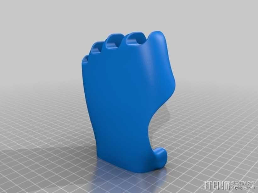 可弯曲的手   模型 升级版 3D模型  图36