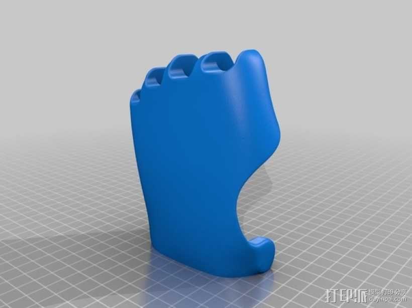 可弯曲的手   模型 升级版 3D模型  图37