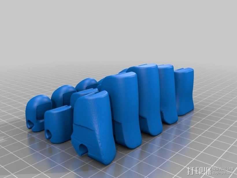 可弯曲的手   模型 升级版 3D模型  图38