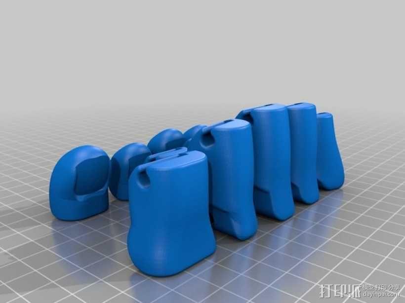 可弯曲的手   模型 升级版 3D模型  图39