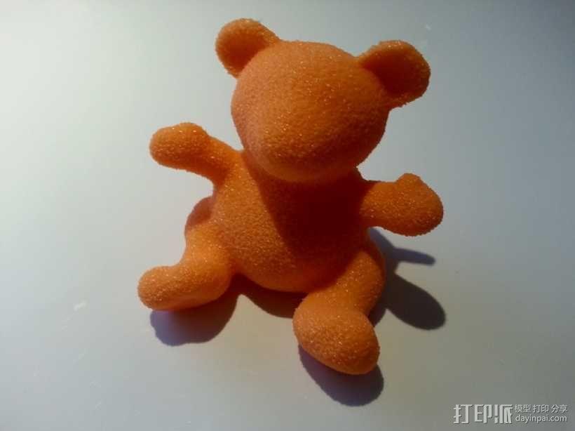 小绒毛熊 3D模型  图1