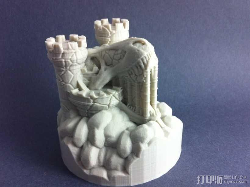 Rexor蛮族人的城堡 3D模型  图1