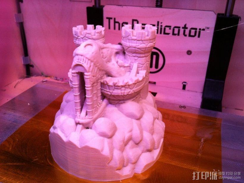 Rexor蛮族人的城堡 3D模型  图2