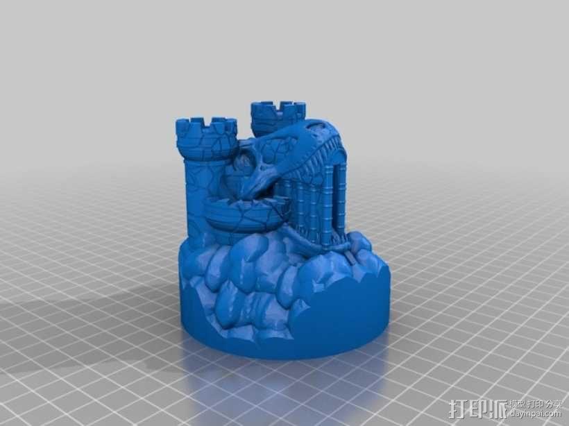 Rexor蛮族人的城堡 3D模型  图3