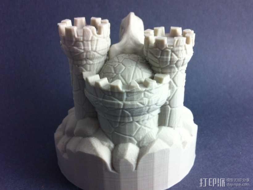 Rexor蛮族人的城堡 3D模型  图7