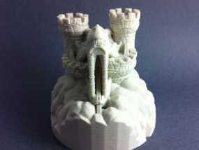 Rexor蛮族人的城堡 3D模型