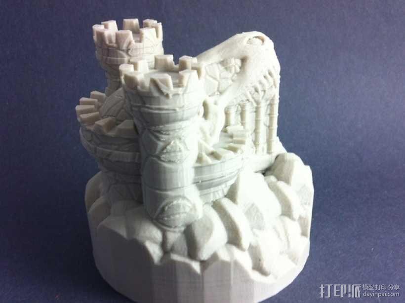 Rexor蛮族人的城堡 3D模型  图6