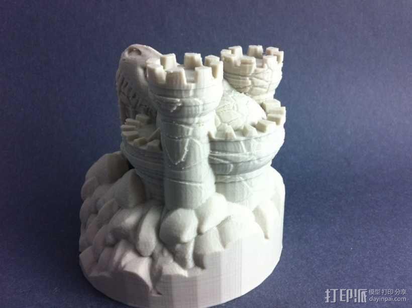 Rexor蛮族人的城堡 3D模型  图8