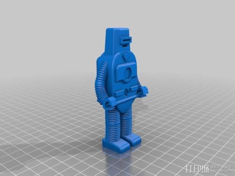 机器人Z 3D模型  图4