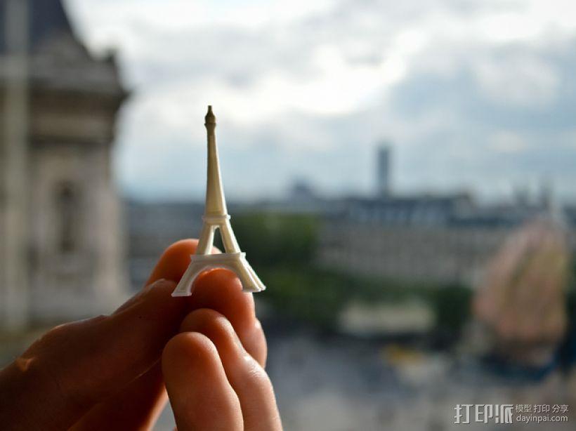 巴黎铁塔 3D模型  图2
