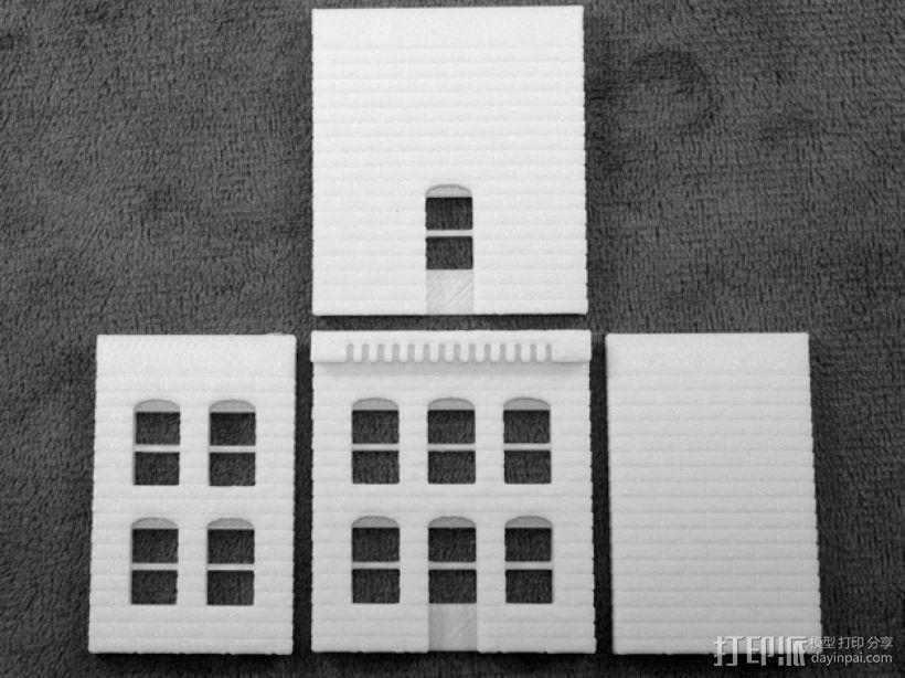 模数法建筑 3D模型  图6