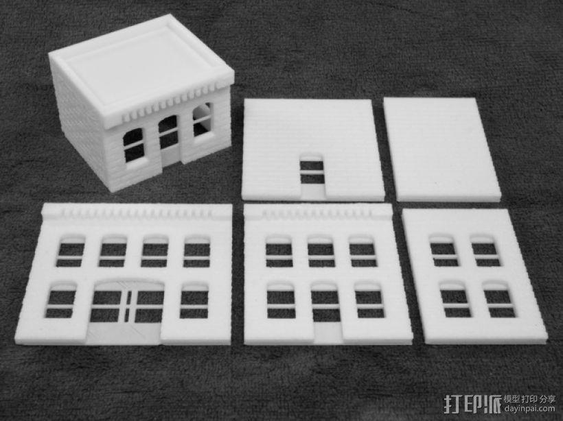 模数法建筑 3D模型  图5