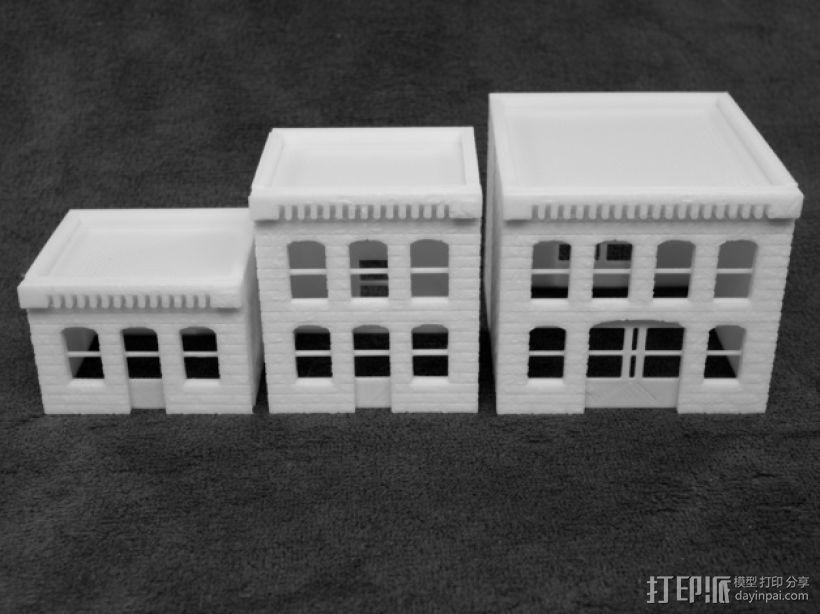 模数法建筑 3D模型  图8