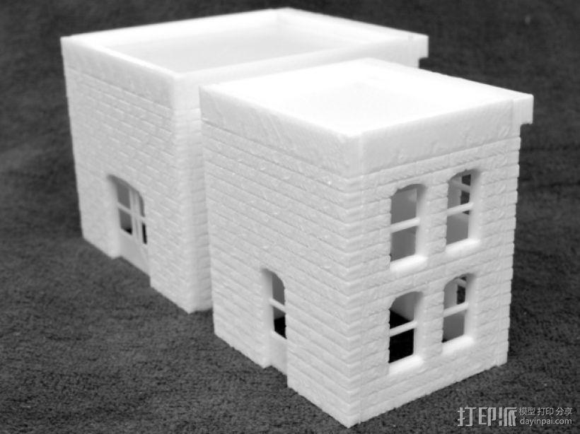 模数法建筑 3D模型  图9