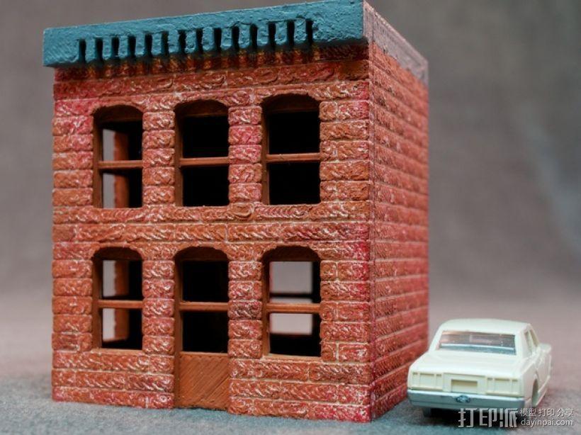 模数法建筑 3D模型  图10