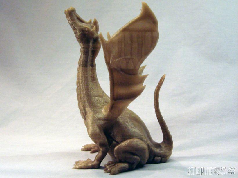 唱歌的蛇 海龙 3D模型  图1