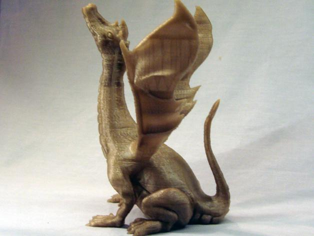 唱歌的蛇 海龙 3D模型  图3