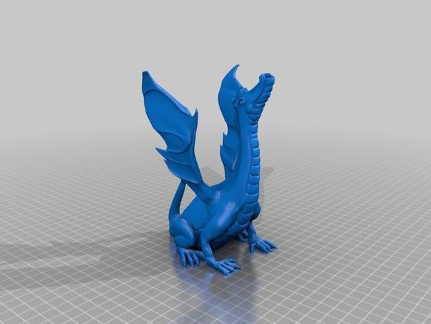 唱歌的蛇 海龙 3D模型  图2