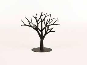 枝桠繁盛的树 3D模型