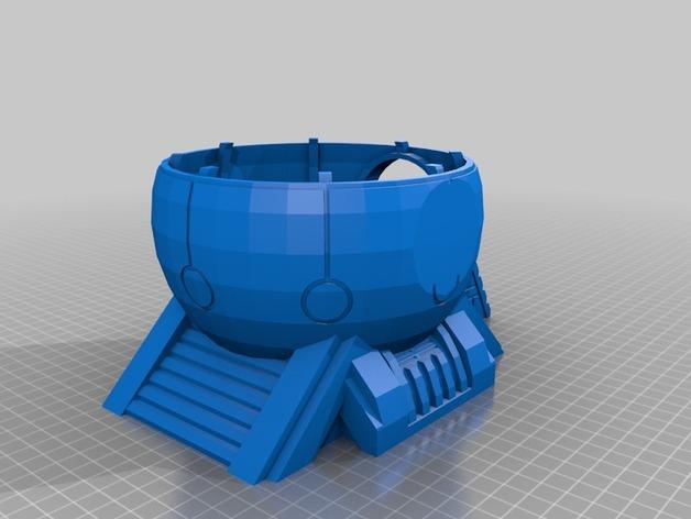 圆顶建筑 3D模型  图4