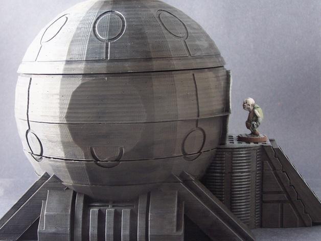 圆顶建筑 3D模型  图2