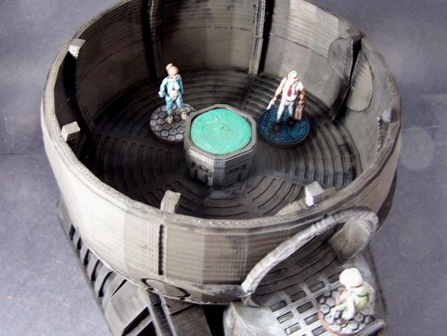 圆顶建筑 3D模型  图3