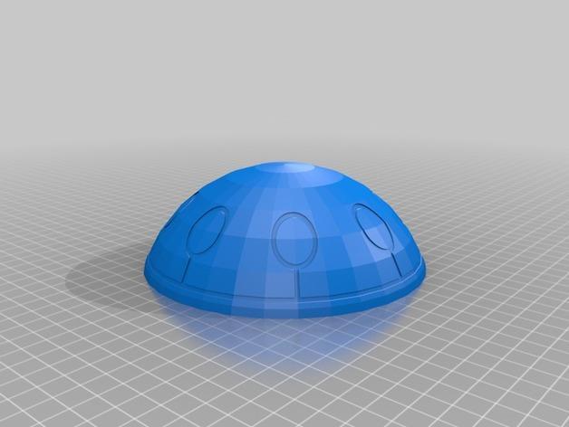 圆顶建筑 3D模型  图7