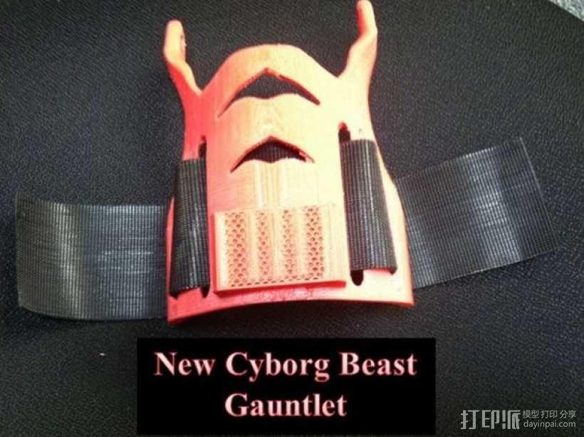 Cyborg Beast假手 3D模型  图2
