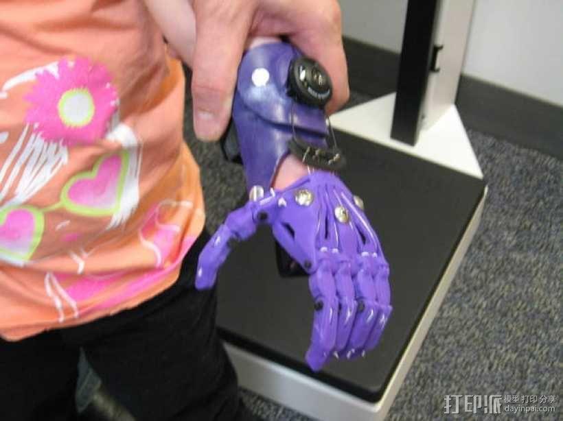Cyborg Beast假手 3D模型  图6