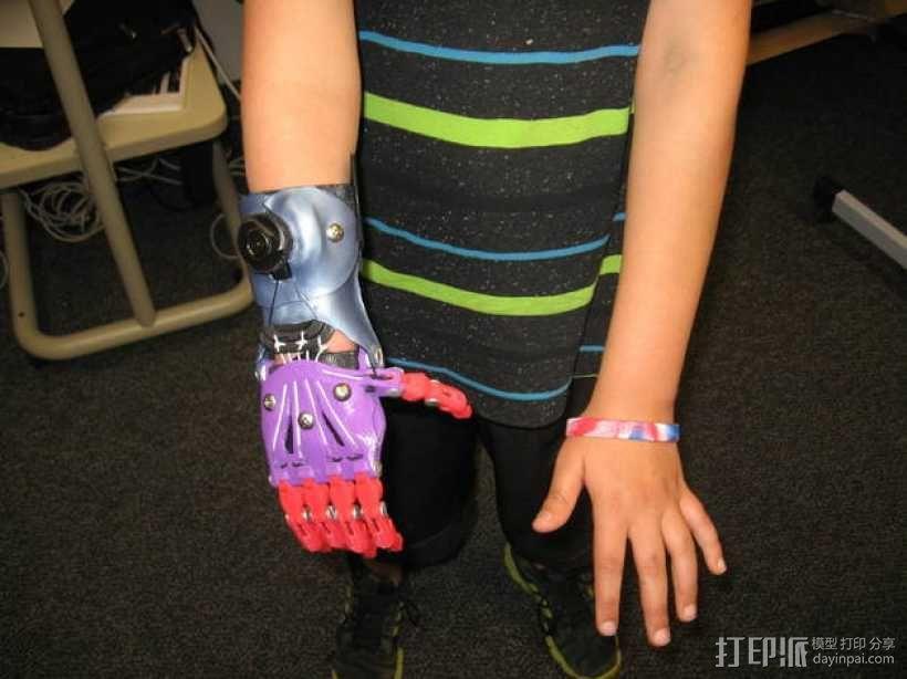 Cyborg Beast假手 3D模型  图5