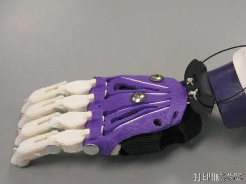 Cyborg Beast假手 3D模型  图9