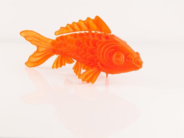 锦鲤 3D模型  图4