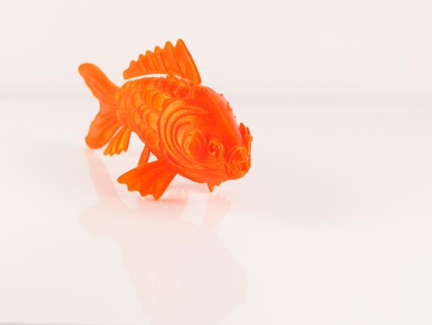 锦鲤 3D模型  图3