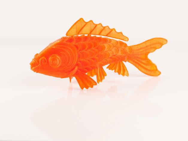 锦鲤 3D模型  图5