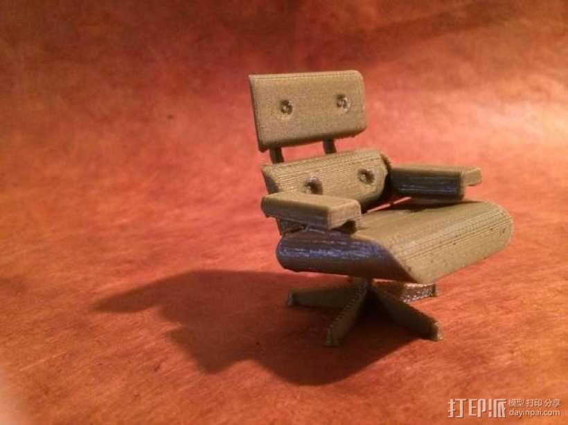 依姆斯办公/休闲椅  3D模型  图1