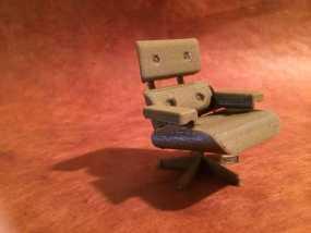 依姆斯办公/休闲椅  3D模型