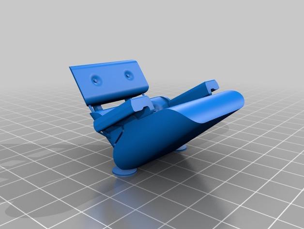 依姆斯办公/休闲椅  3D模型  图2